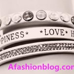 21Inspirational leather bracelets for women with sayings