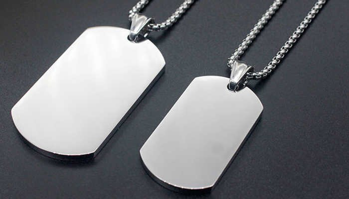 What Information is on Military Dog Tags?