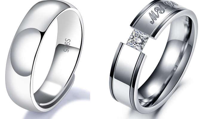 Titanium steel vs. Sterling silver