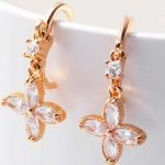 Gold Earrings Designs for Teenage Girl