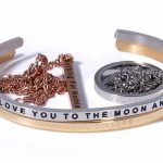 jewelry with engraved quotes