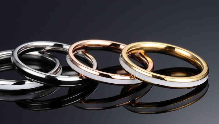Rose Gold vs White Gold Engagement Rings