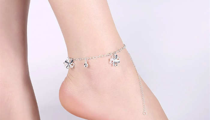 11 sterling silver ankle bracelets 11 inches