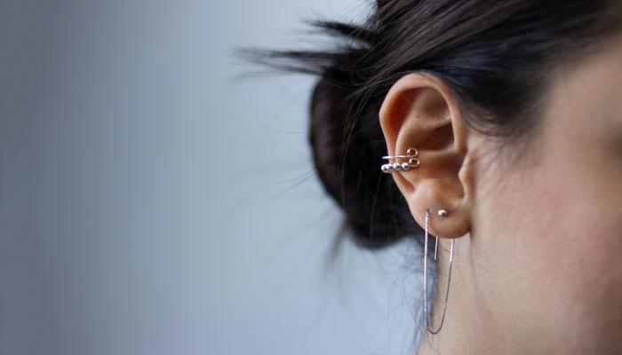 Small Hoop Earrings for Multiple Piercings