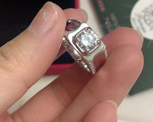 when was platinum first used in jewelry