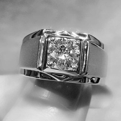 How To Polish Platinum Diamond Ring