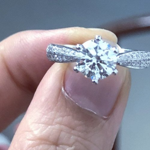 Are Real Diamonds Set In 925 Silver