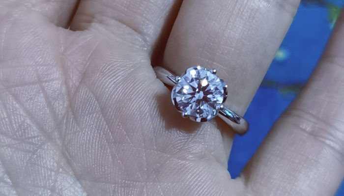 Is My Engagement Ring Too Flashy
