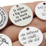 Inspirational Charms for Bracelets