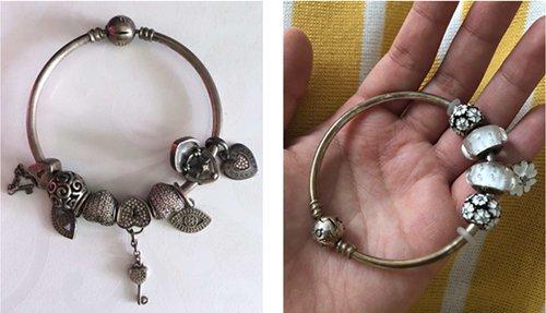 My Silver Bracelet Turned Copper