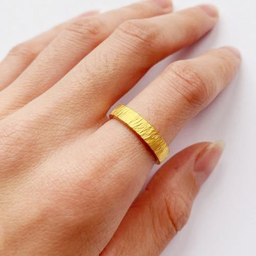 Why is Some Gold Jewelry So Yellow