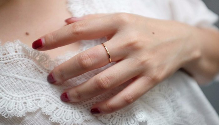10K Solid Gold Wedding Band
