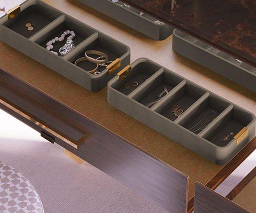 Как хранить ожерелья в ящике