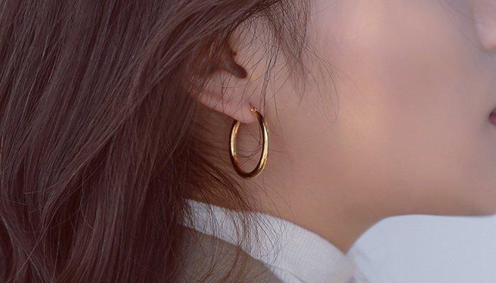Are Hoop Earrings Business Professional