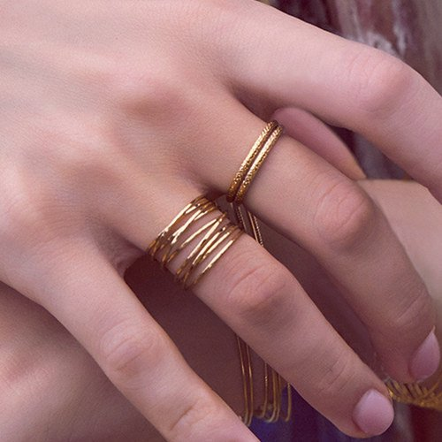 what are stackable rings