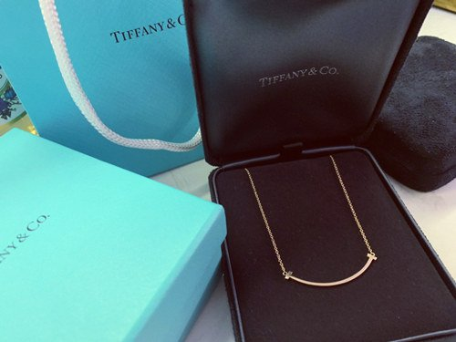 my tiffany necklace is turning brown