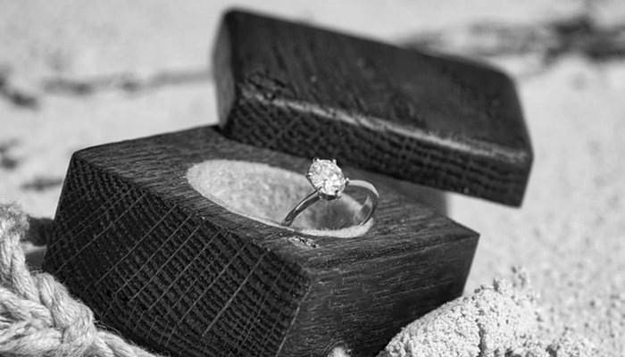 how to gift wrap a ring without a box